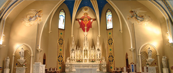 Custom Church Interiors and Exteriors
