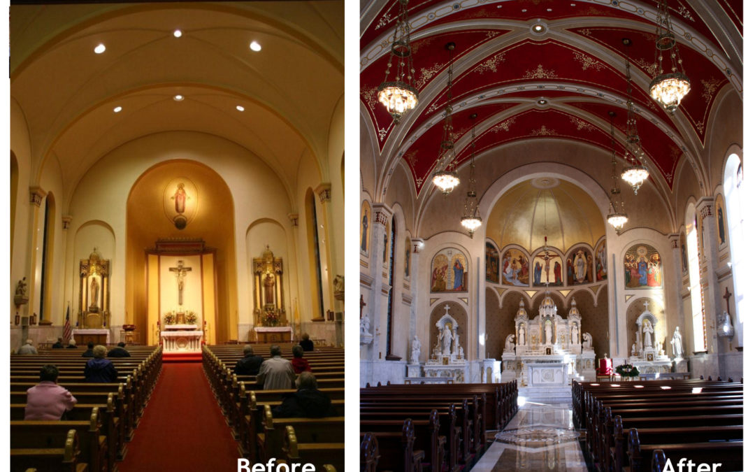 Restoration: Sacred Heart Church in Peoria, Illinois