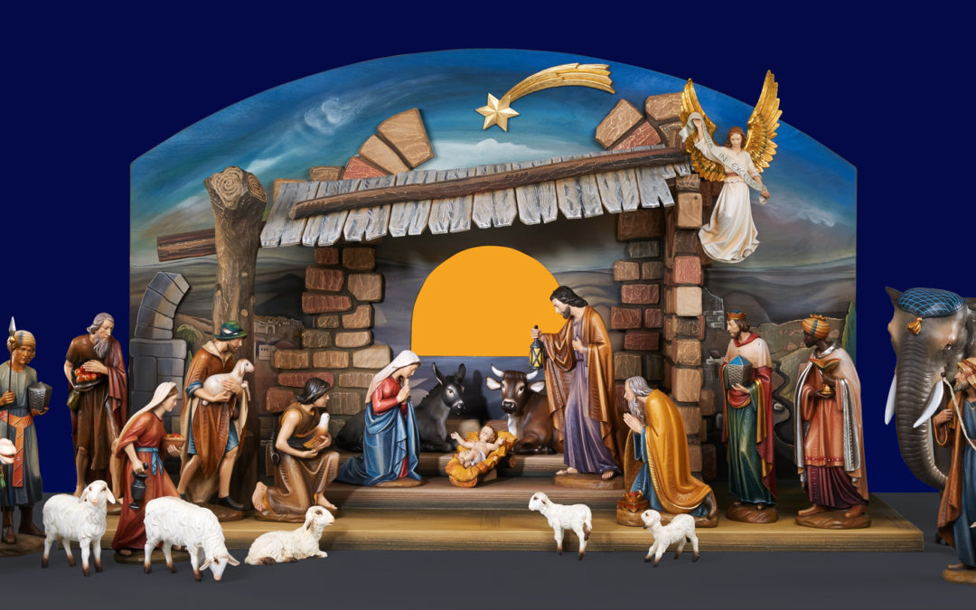 It's time to place Nativity scene orders