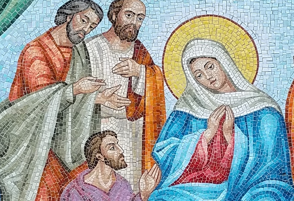 Recent mosaic projects for Catholic parishes
